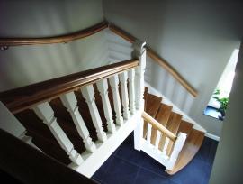 2-kleurige trappen
